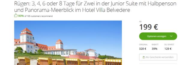 Ostsee Villa Belvedere Schnäppchen 2005