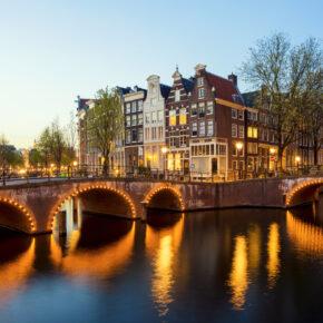 Amsterdam Städtereise: 3 Tage Kurztrip inkl. TOP 4* Hotel inkl. Frühstück nur 79€