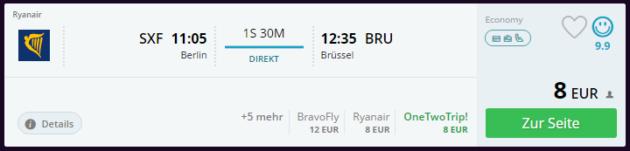 Berlin nach Brüssel