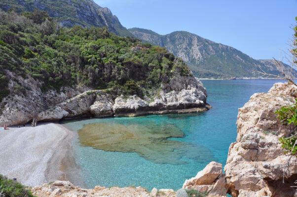 Bucht auf Samos