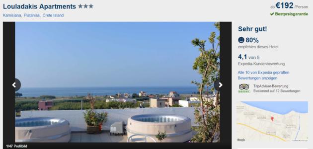 Ferienwohnung auf Krete