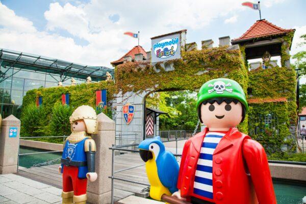 Playmobil Funpark Eingang
