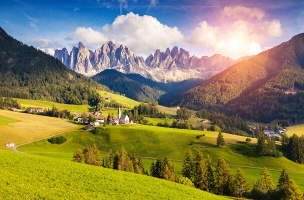 Dolomiten Südtirol St. Magdalena