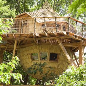 Frankreich: 2 Tage im Luxus-Baumhaus am See nur 85€