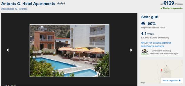 Zypern Hotel