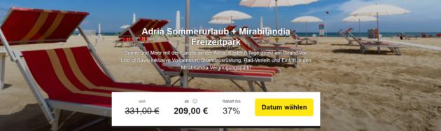 6 Tage Adria Strandurlaub