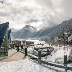 Therme Aqua Dome: 2 Tage Wellness im 4.5* Luxus-Hotel inkl. Halbpension nur 146€