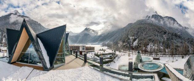 Aqua Dome Schnee