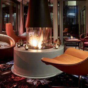 Hotel Sir Savigny Kamin