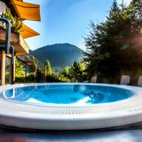 Allgäu Alpenhotel Whirlpool