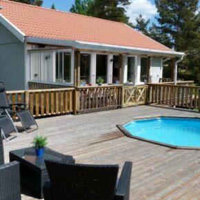 1 Woche Schweden im Ferienhaus mit eigenem Pool nur 82 €