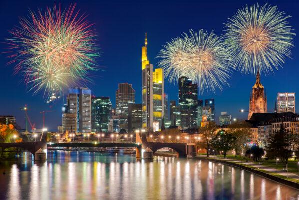 Frankfurt an Silvester