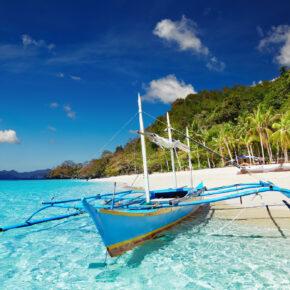 12 Tage auf traumhafter Insel auf den Philippinen mit Flügen, Hotel & Frühstück nur 504€