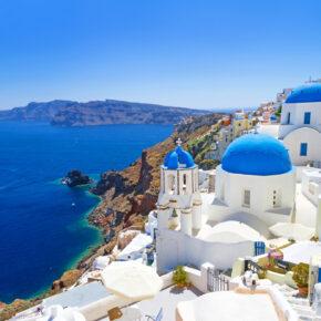 Griechenland Kracher: 8 Tage Santorini im TOP 3* Hotel mit Flug nur 259€