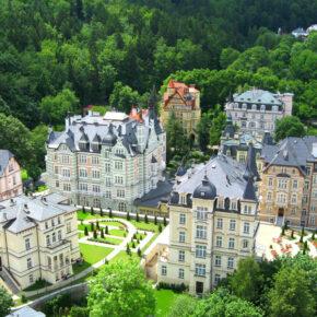 Wellness Karlsbad: 3 Tage im 5*Hotel inkl. Frühstück ab 139 €