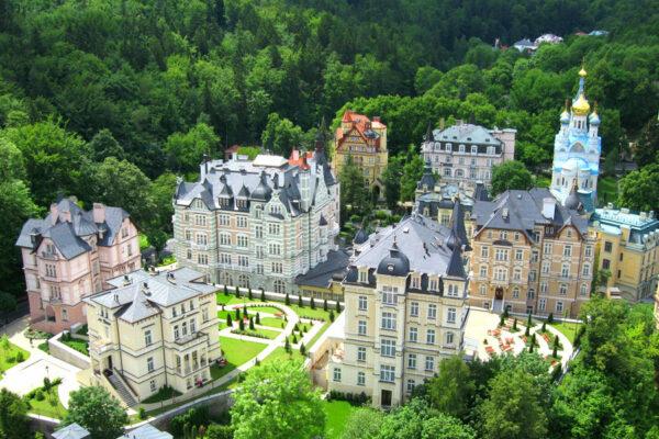 Savoy Hotel Karlsbad Außenbereich
