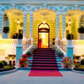 Savoy Hotel Karlsbad Eingang