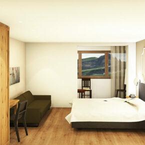 Spangelwirt Südtirol Hotelzimmer
