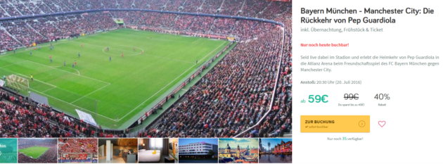 Bayern München - Manchester City