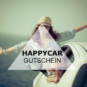 HAPPYCAR Gutschein: 10€ Rabatt auf alle Mietwagen Buchungen