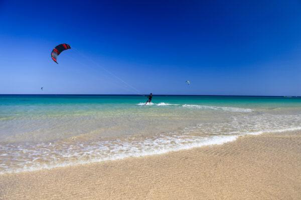 Kite Surfen auf Gran Canaria