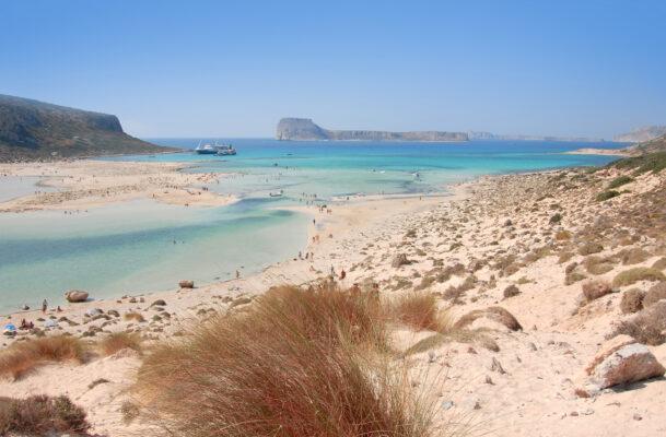 Kreta Strand Aussicht