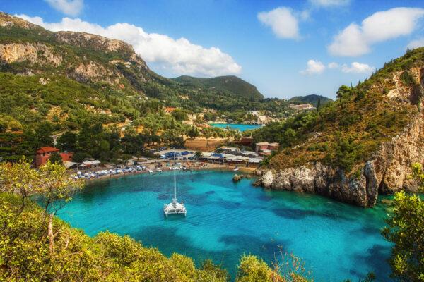 Paleokastritsa Beach Korfu