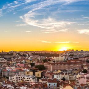 Städtetrip Lissabon: 3 Tage in Portugal am Wochenende mit Unterkunft & Flug nur 86€
