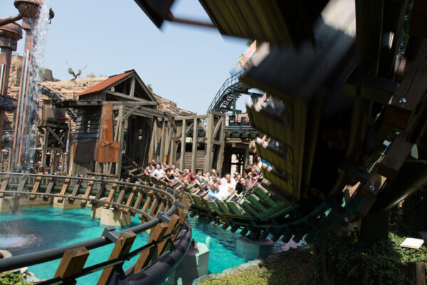 Phantasialand Colorado Achterbahn