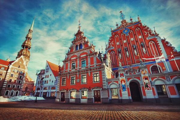 Riga Altstadt Jugendstil