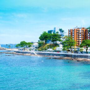 Brasilien: 8 Tage Salvador im guten Apartment mit Meerblick inkl. Direktflug nur 550€