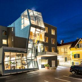 Stadthotel Brunner Schladming Außenansicht