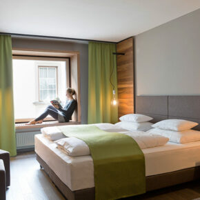 Stadthotel Brunner Schladming Hotelzimmer