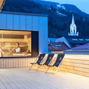 Stadthotel Brunner Schladming Saunabereich