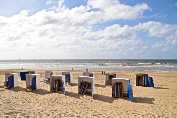 Scheveningen Strand Niederlande