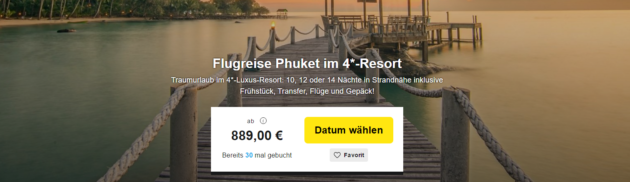 11 Tage Phuket Resort