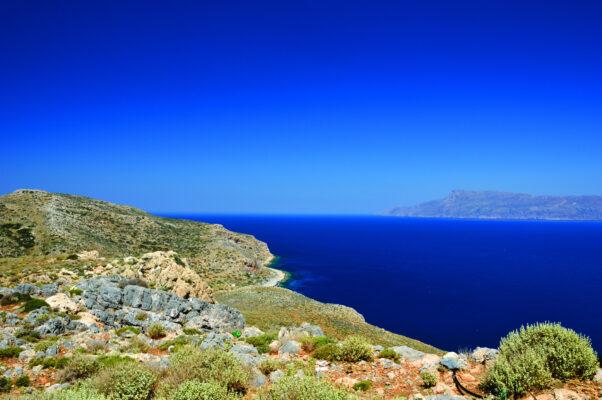 Kreta Bucht mit Meer
