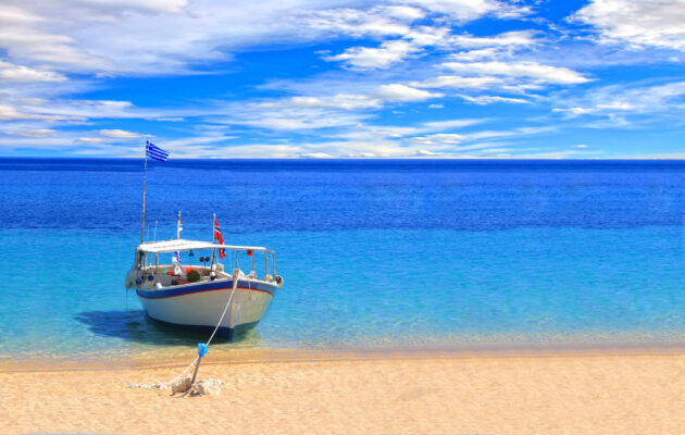 Boot auf Kreta