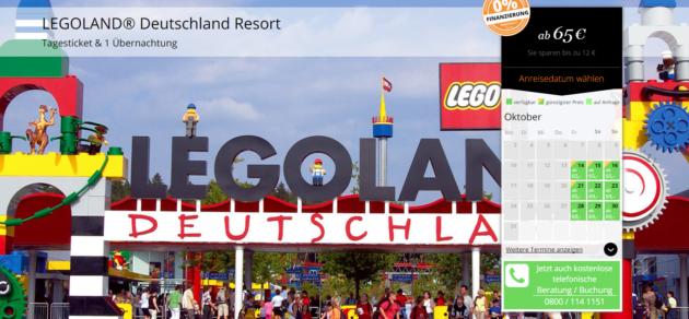 Legoland Deutschland mit Hotel und Eintritt