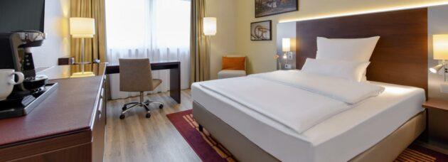 Mercure Hotel Duisburg Zimmer