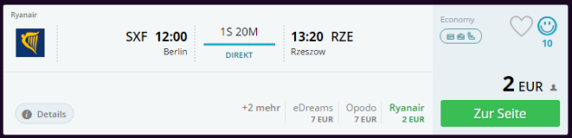Polen Flugdeal