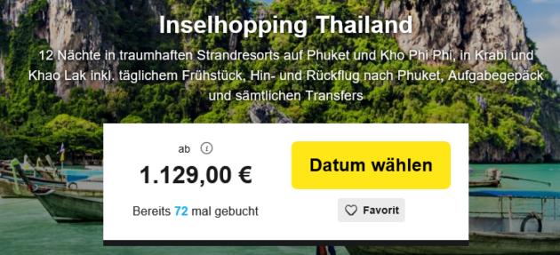 12 Nächte Thailand Inselhopping