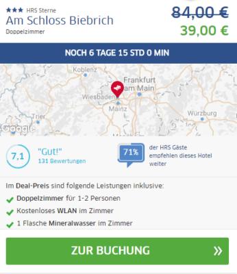 3 Tage nach Wiesbaden