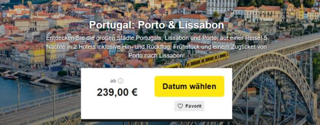 6 Tage Porto & Lissabon