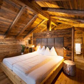 Schlafzimmer Chaletdorf Auszeit