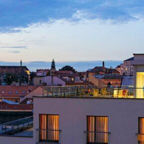 Hotel Park Inn Prag Aussicht