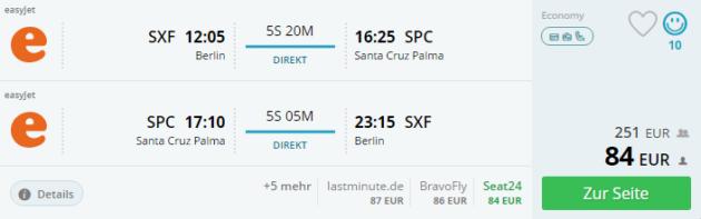 Berlin nach La Palma