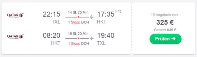 Berlin nach Phuket
