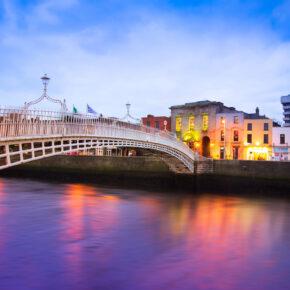 Irland: 3 Tage Dublin in toller Unterkunft mit Frühstück & Flug für 67€
