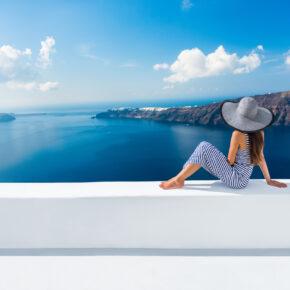Frühbucher: 8 Tage auf Santorini mit TOP Hotel & Flug nur 259€